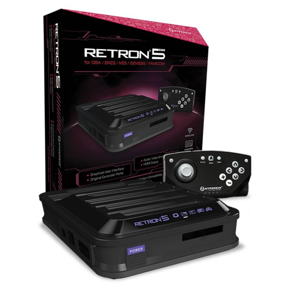RetroN 5 Ultimate Combination Of Nintendo And Sega Gaming Console