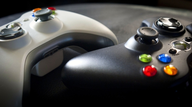 xbox_360_black_white_buttons_controls_macro_74342_1920x1080