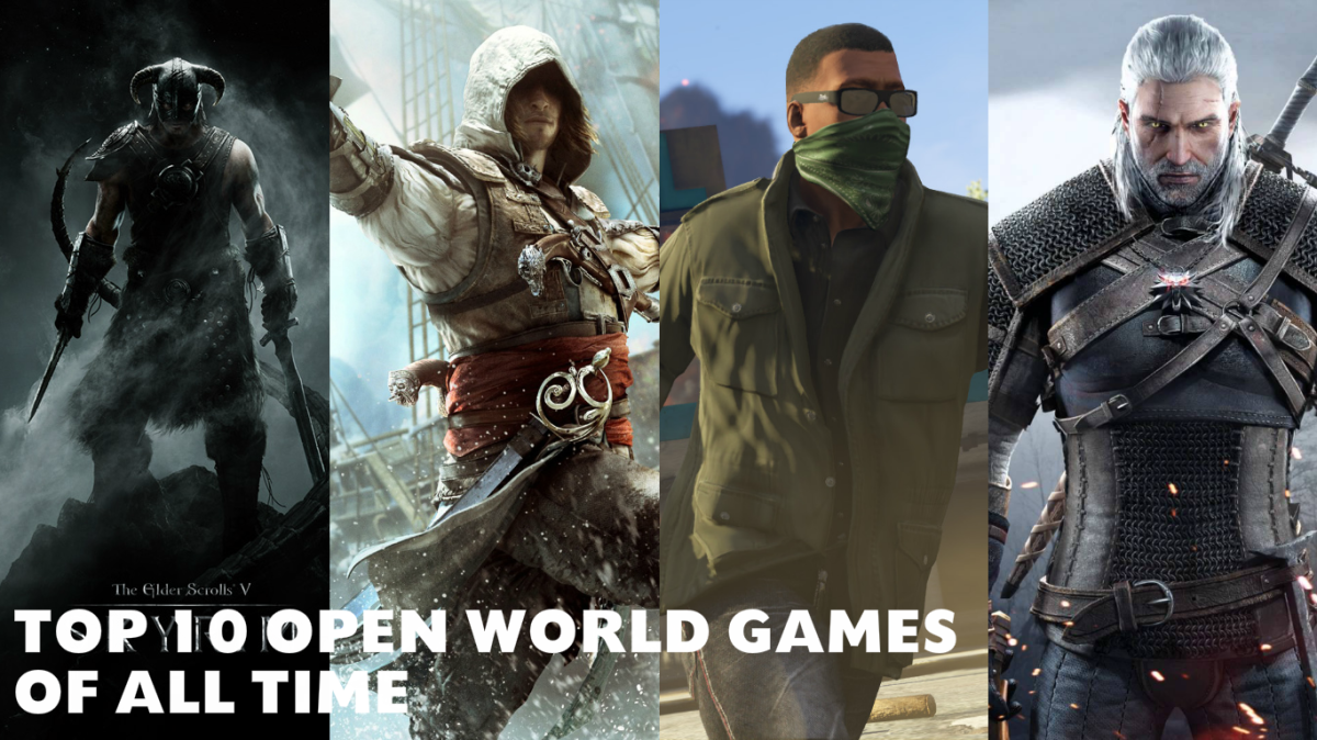Top 10 Open World Games Of All Time