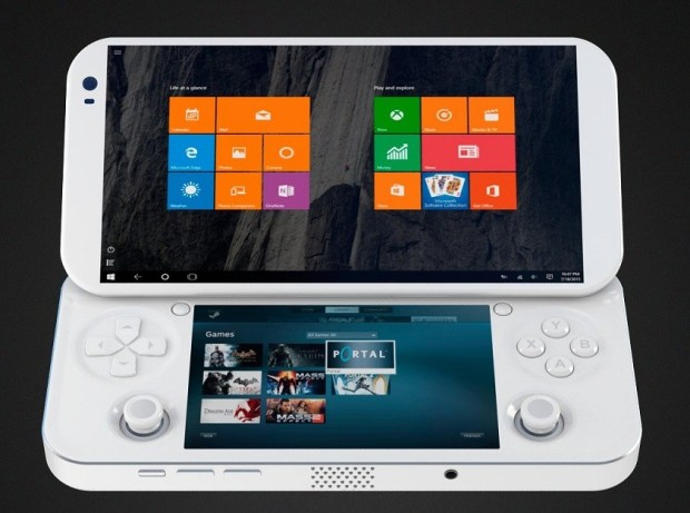 this is the worlds first portable pc gaming console the game freak show. Black Bedroom Furniture Sets. Home Design Ideas