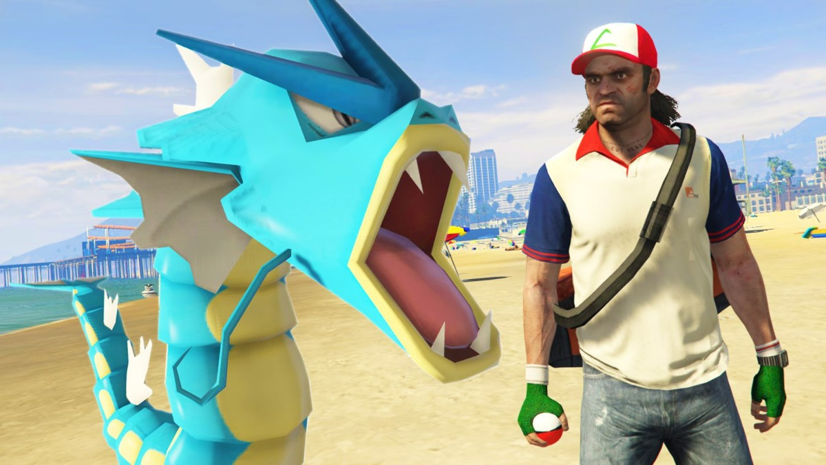 Now You Can Play Pokemon Go In Grand Theft Auto 5
