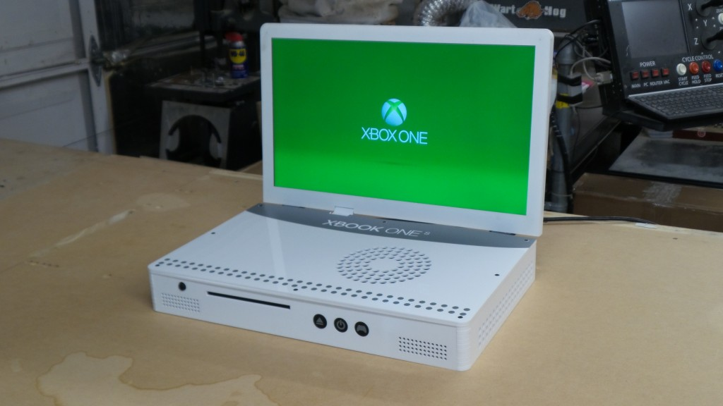 This Is The Worlds First Xbox One S Laptop