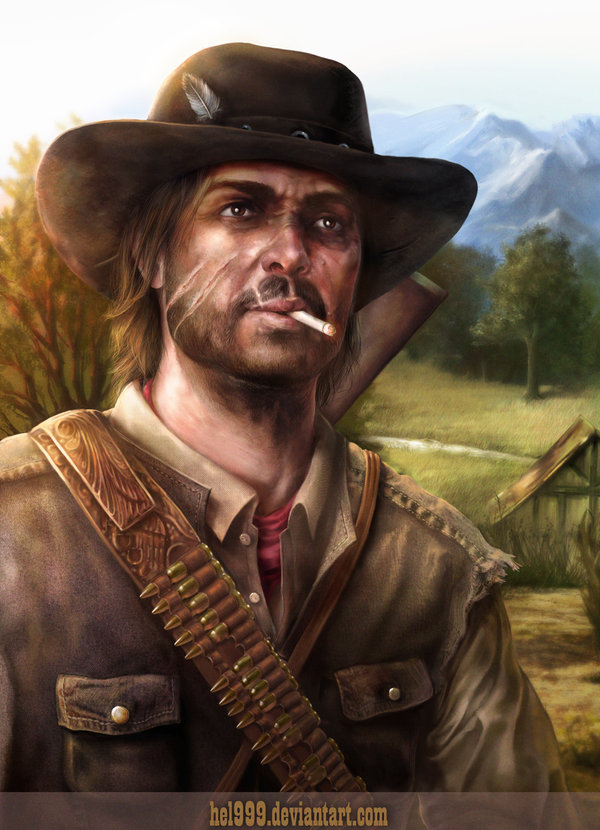 red_dead_redemption___marston_by_hel999-d2rg8y7