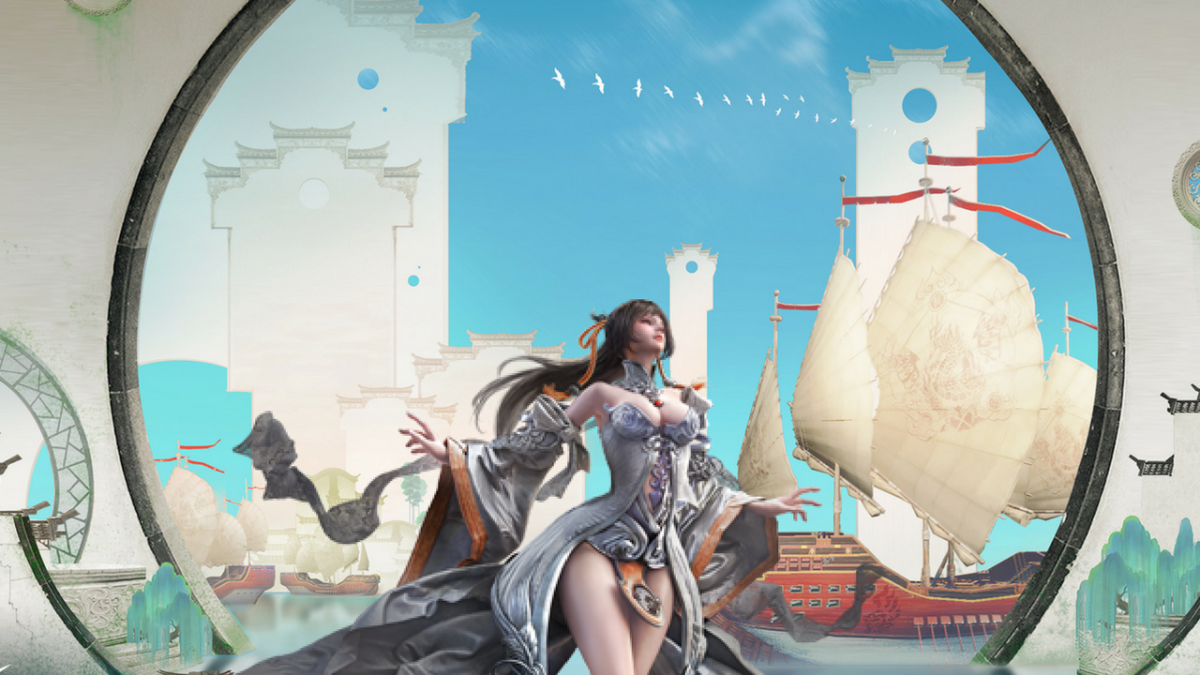 The Most Gorgeous Looking MMO Video Game Ever Made